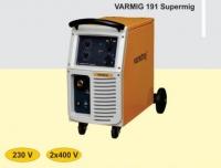 MIG MAG metināšanas iekārta pusautomāts VARMIG 191 SUPERMIG, 1x230V, 2x400V, 25-190A IZPĀRDOŠANA