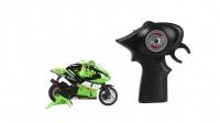 (V) Izpārdošanas cena! Juguetronica MICROBIKE motocikls ar ergonomisku vadības pulti JUG0222