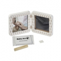 Baby Art Print Frame My baby Touch Copper Edition komplekts mazuļa pēdiņu/rociņu nospieduma izveidošanai, white 3601092400