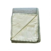 Izpārdošanas cena! Lodger Dreamer Honeycomb kokvilnas sedziņa, Leaf, 75x100 DM 070