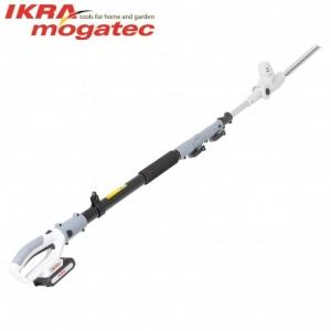 Akumulatora dzīvžogu šķēres 20V 2Ah Ikra Mogatec ICPH 2040