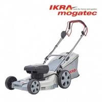 Akumulatora pašgājējs zāles pļāvējs 40V 5Ah IKRA Mogatec IAM 40-4625 - PILNS KOMPLEKTS