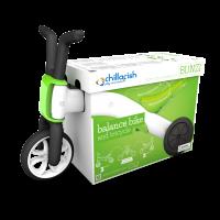 Akcija! Chillafish Bunzi līdzsvara velosipēds - transformers pašiem mazākajiem 2-in-1, zaļa, no 1 līdz 3 gadiem CPBN01LIM
