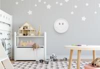 Rabalux BABETTE LED sienas lampa, balta (smaidiņš) 4543