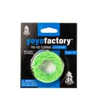 YoYoFactory YO-YO STRING PACK aukliņu komplekts (5 gab.), zaļš YA 116
