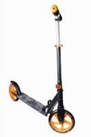 Akcija! Muuwmi Aluminium Scooter skrejritenis 200 mm, melns/oranžs AU 116