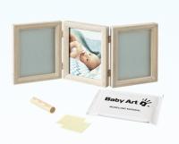 Baby Art Double Print Frame My baby Touch  komplekts mazuļa pēdiņu/rociņu nospieduma izveidošanai, stormy 34120173