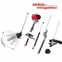Benzīns kombi-sistēma Ikra Mogatec IBKH 33, 4in1