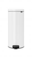 BRABANTIA atkritumu tvertne ar pedāli NewIcon, 30 l, White 111785