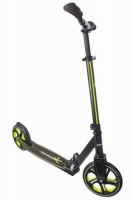 Muuwmi Aluminium Scooter PRO skrejritenis 215 mm, melns/zaļš AU 340