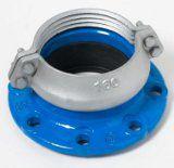!Adapt. PVC/PE caurulei, enkurojošs Dn125, D125mm
