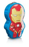 """(V) Izpārdošanas cena! Philips Disney """"Iron-Man"""" LED nakts lukturītis, krāsains 717673516"""