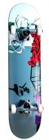 Akcija! No Rules Vibe Skateboard skrituļdēlis, ABEC 5 AU 239