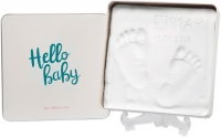 Jaunums! Baby Art Magic Box Essentials komplekts mazuļa pēdiņu/rociņu nospieduma izveidošanai 3601094300