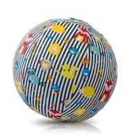 Akcija! Bubabloon lateksa balons ar auduma pārvalku, Animal Stripes Blue 040383