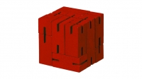 Juguetronica FLEXICUBE PUZZLE izglītojoša kubveida puzle MT1166