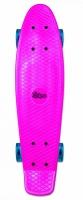 Akcija! No Rules Skateboard fun skrituļdēlis ar gaismiņām, rozā AU 349