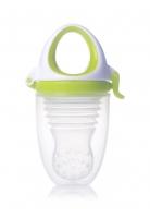Akcija! Kidsme Food Feeder Plus bērna ēdināšanas ierīce no 6 mēn, Lime 160361LI
