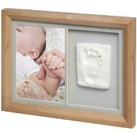 Baby Art Tiny Touch komplekts mazuļa pēdiņu/rociņu nospieduma izveidošanai, honey 3601093000