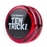 YoYoFactory YO-YO TEN TRICK iesācējiem, sarkans/melns YO 249
