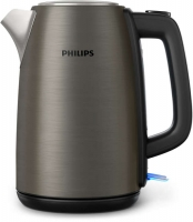 PHILIPS Daily Collection tējkanna, 1.7L (pelēka) HD9352/80