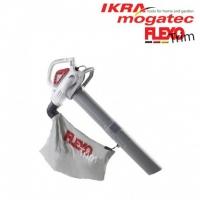 Elektriskais lapu pūtējs / savācējs 3 kW Ikra Mogatec ILS 3000 E