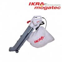 Elektriskais lapu pūtējs / savācējs Ikra Mogatec IBV 2800 E