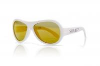 Akcija! SHADEZ Classic White Teeny bērnu saulesbrilles, 7-15 gadi SHZ 12