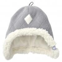 Lodger Hatter Fleece Scandinavian cepure, 6-12 mēn., Greige HT 504_6-12