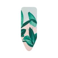 BRABANTIA gludināmā dēļa pārvalks, 124x45 cm, Tropical Leaves (C) 4mm+ 4mm filcis 118968