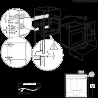 AEG iebūvējama cepeškrāsns BPS351120M