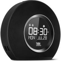 JBL radio pulkstenis ar Bluetooth, USB lādēšanu un apgaismojumu, melns JBLHORIZONBLKEU