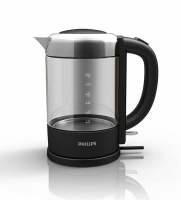 PHILIPS Avance Collection Tējkanna, 1.5 l, 2200 W (stikla) HD9340/90