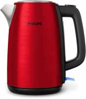 PHILIPS Daily Collection tējkanna, 1.7L (sarkana) HD9352/60