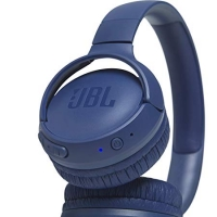 JBL on-ear austiņas ar Bluetooth, zilas JBLT500BTBLU