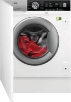 AEG veļas mazg. mašīna (iebūvējama) L8FBE48SI