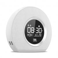 JBL radio pulkstenis ar Bluetooth, USB lādēšanu un apgaismojumu, balts JBLHORIZONWHTEU