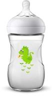Jaunums! Philips Avent barošanas pudelīte Natural Dragon 260 ml, lēnas plūsmas knupītis, 1m+ SCF070/24