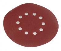Apaļais smilšpapīrs 215mm, grauds 180 - 10gab. DS 920 / 930, Scheppach