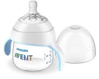 Jaunums! Philips Avent Natural mācību krūzīte 150 ml, vidējas plūsmas knupītis 4m+ SCF262/06