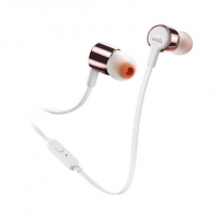 JBL in-ear austiņas, rose gold JBLT210RGD