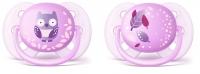 Akcija! Philips Avent māneklītis Ultra soft DECO, 0-6M (2 gab), meitenēm SCF227/20