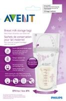 Philips Avent piena uzglabāšanas maisiņi 180ml/25 gab. SCF603/25