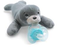 Jaunums! Philips Avent plīša rotaļlieta Ronītis ar Ultra soft māneklīti 0–6 mēn. SCF348/14