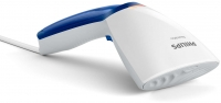 PHILIPS Steam&Go rokas apģērbu tvaicētājs (balts ar zilu) GC351/20