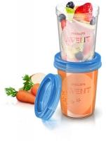 Philips Avent trauki krūts piena/ēdiena uzglabāšanai 240 ml (5gab) SCF639/05