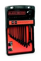Wrench set, 11pcs, Black+Decker