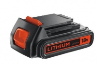 18V Lithium-ion 2.0Ah akumulators, Black+Decker