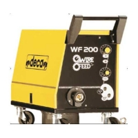 Stieples padeves iekārta WF200 WIRE FEED DEVICE 2 rullīši