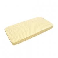 Izpārdošanas cena! Lodger Slumber universāls kokvilnas palags ar gumiju,Gold, 60x120/70x140 SB 043